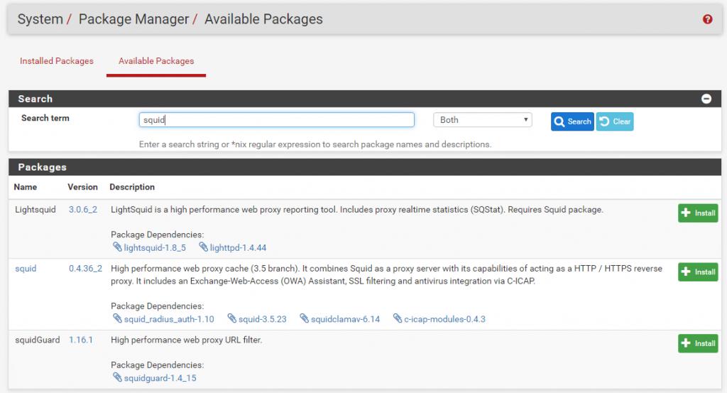 Pfsense Firewall - Triển khai web proxy với HTTPS - www EngISV info